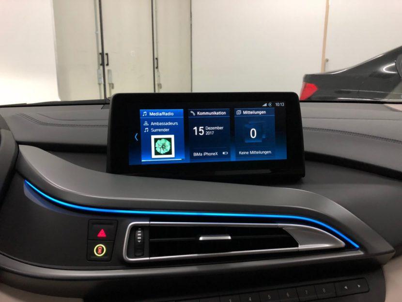 BMW i8 iDrive ID6 Umbau 2018 Infotainment Bimmer Manufaktur 05 830x623