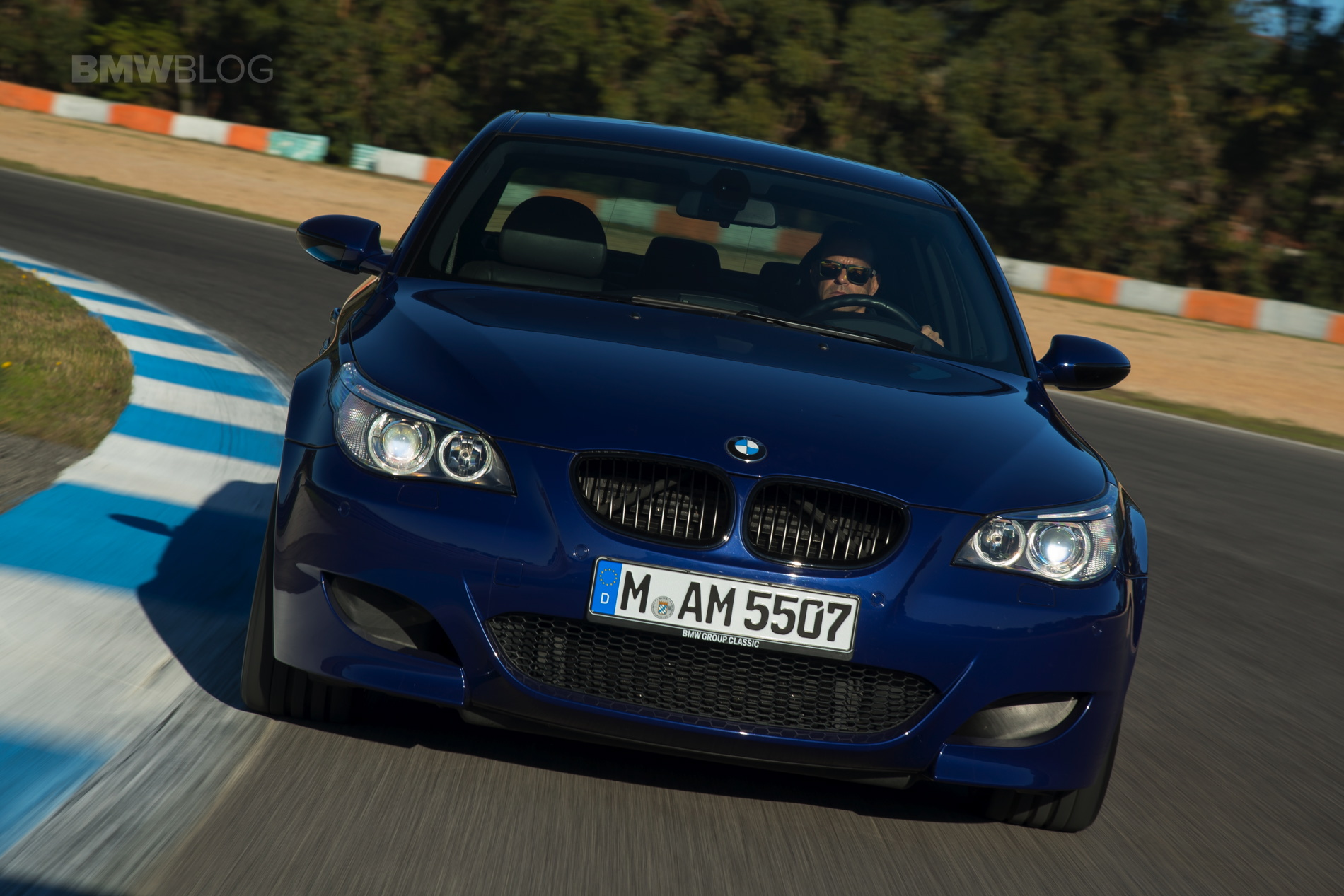 Photoshoot With The Bmw E60 M5