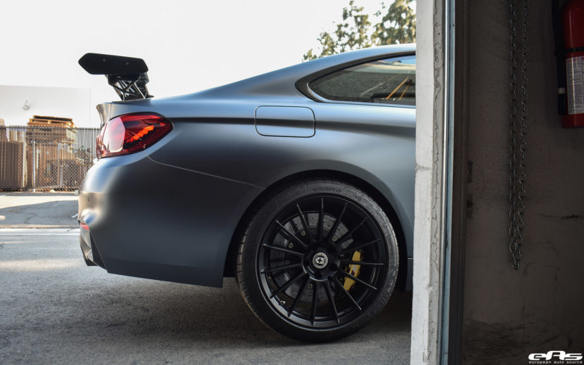 Frozen Gray BMW M4 GTS Upgraded With HRE FF15 Flow Form Wheels
