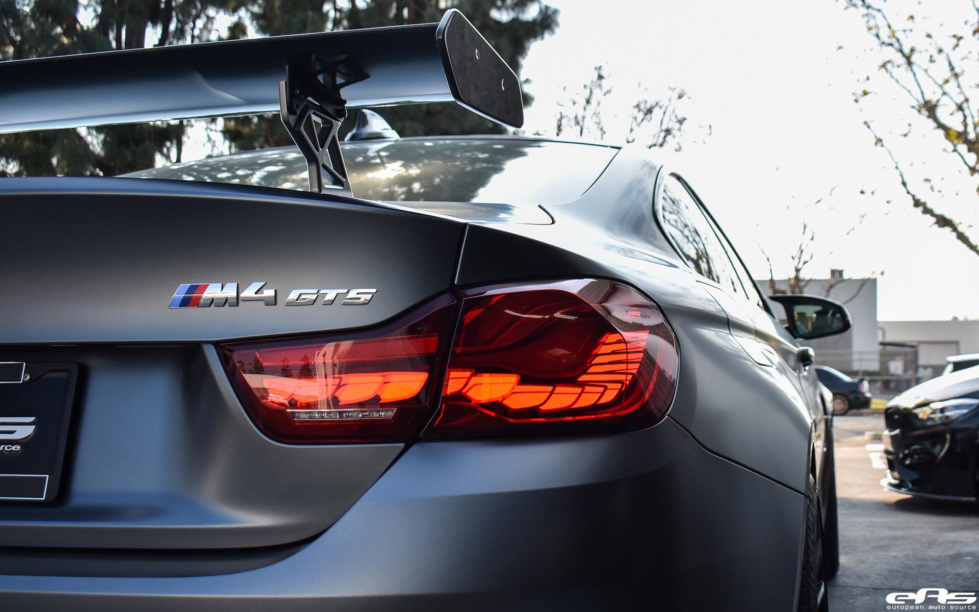 Frozen Gray BMW M4 GTS HRE FF15 Flow Form Wheels Image 9