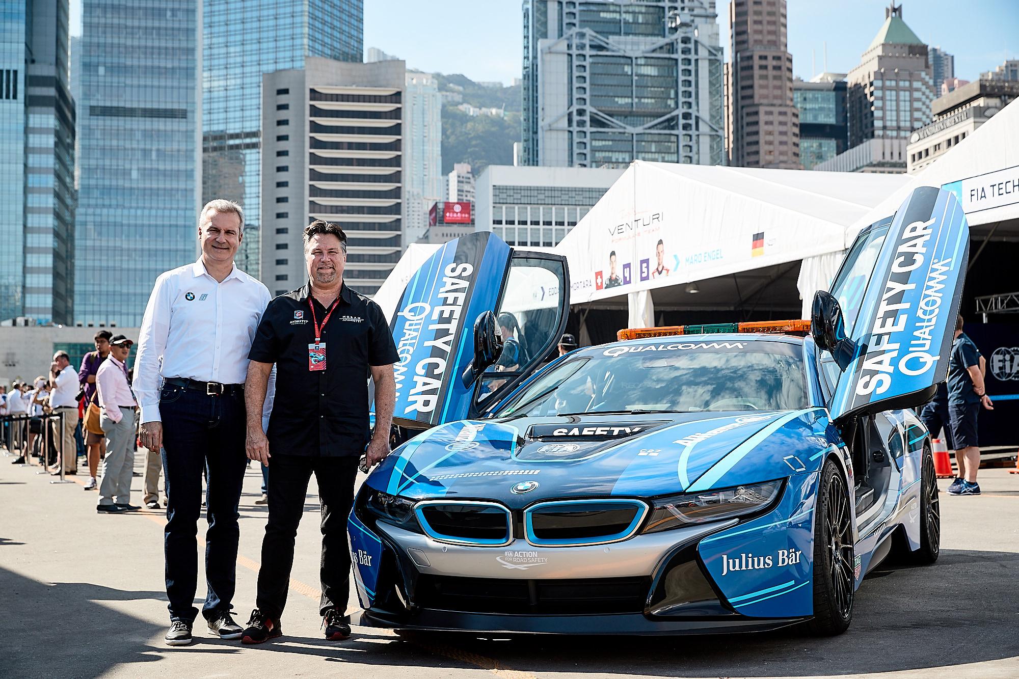 Jens Marquardt and Michael Andretti