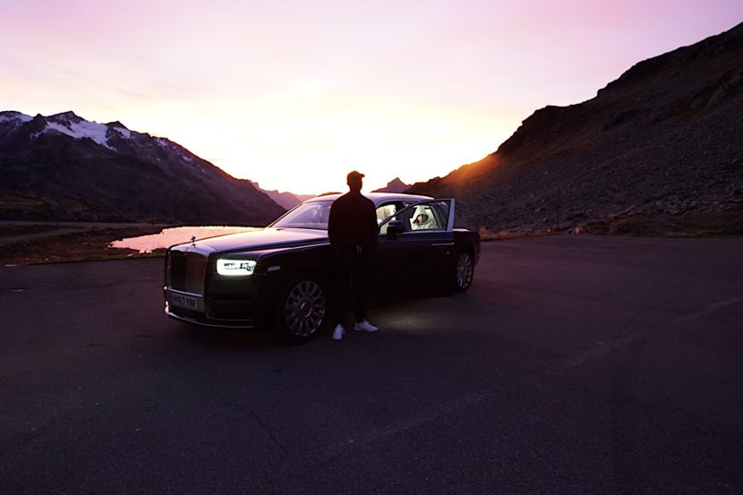 Skepta and Rolls Royce P90288464 highRes skepta transforms ne 830x553