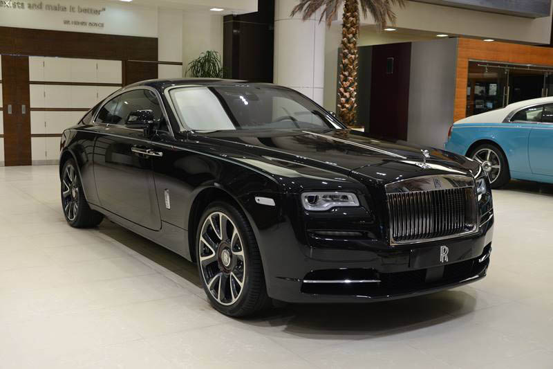 Special Edition Rolls Royce Wraith Celebrates Emirates Anniversary