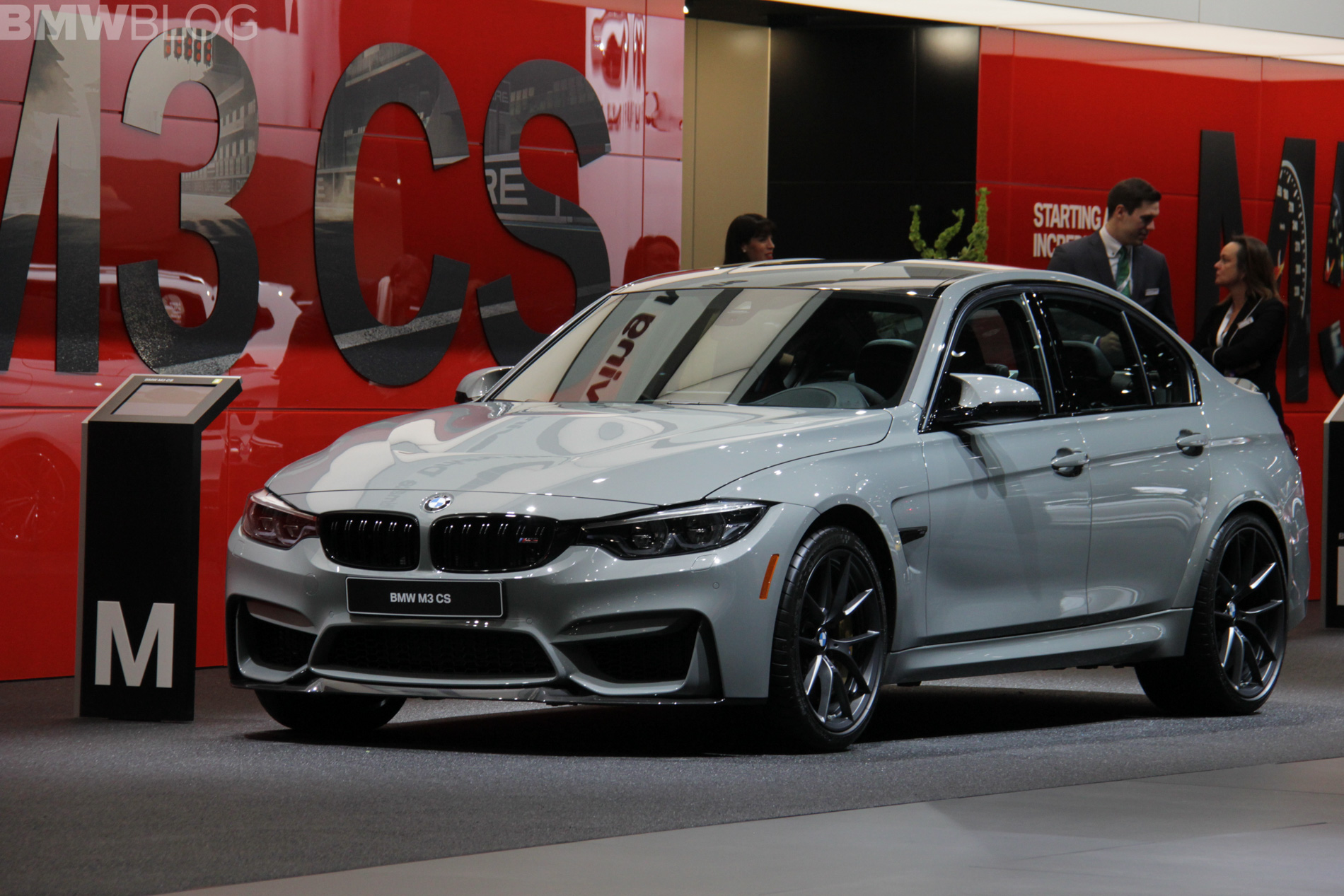 2018 BMW M3 CS detroit 1