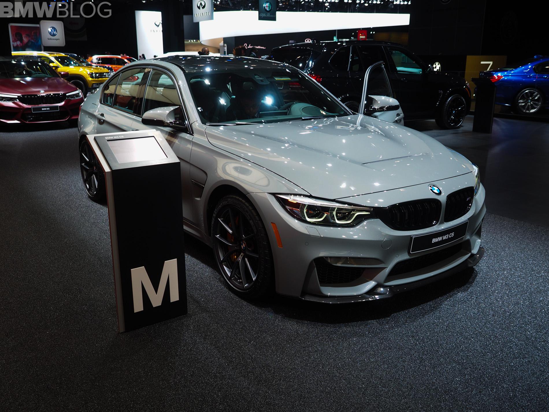 2018 Detroit Auto Show Bmw M3 Cs Looks Sportier Than Ever