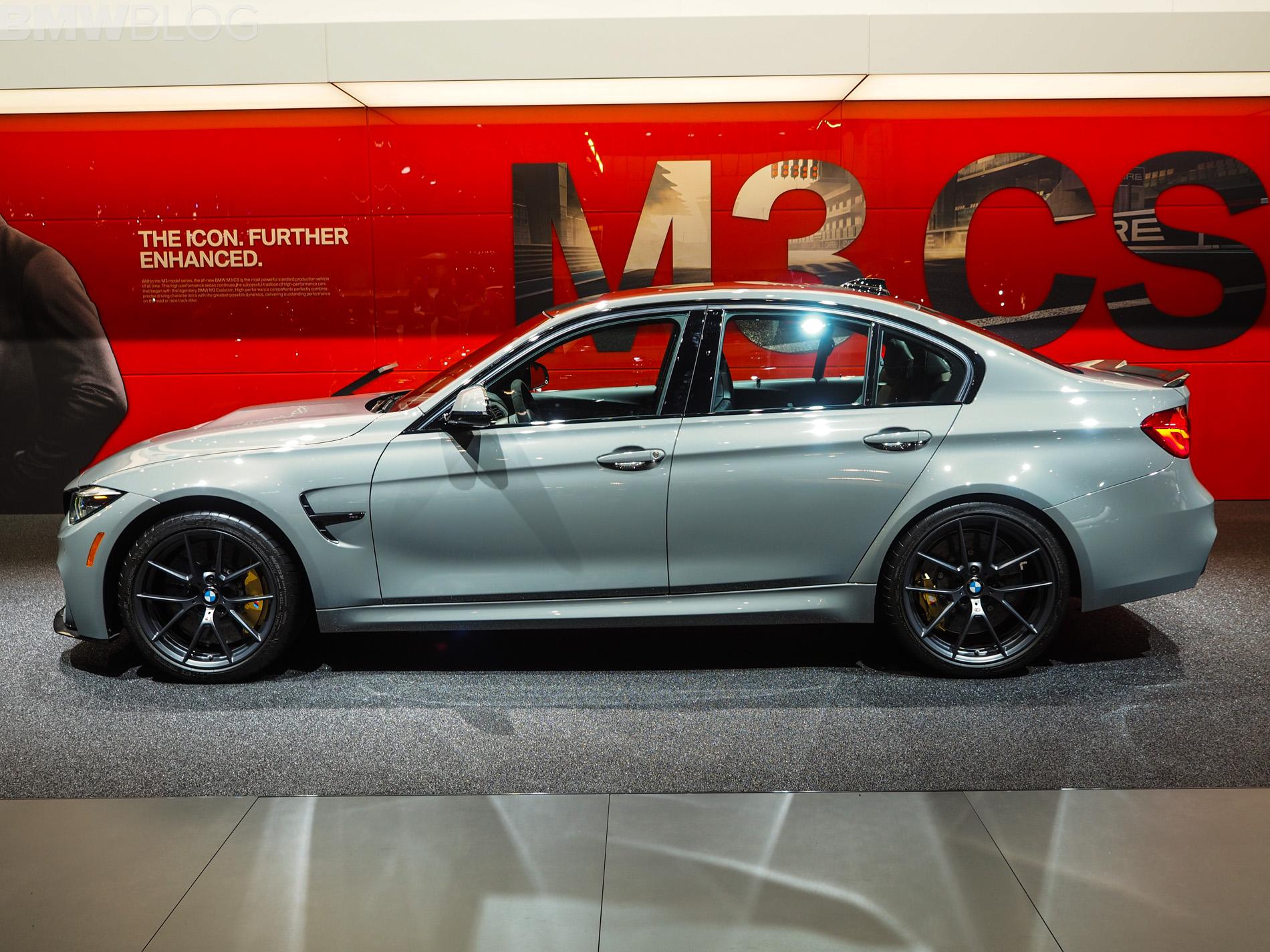 Bmw M3 0 60 >> 2018 Detroit Auto Show: BMW M3 CS looks sportier than ever