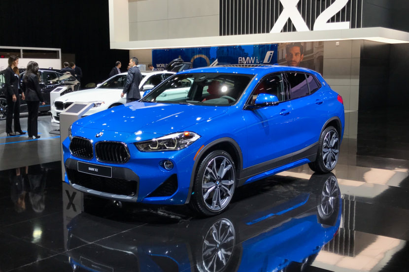 2018 BMW X2 Misano Blue 6 830x553