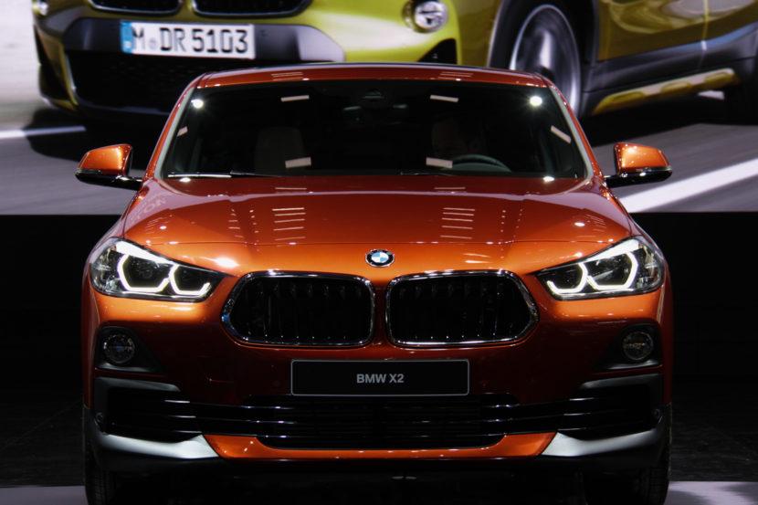 2018 Detroit Auto Show: BMW X2 in Sunset Orange
