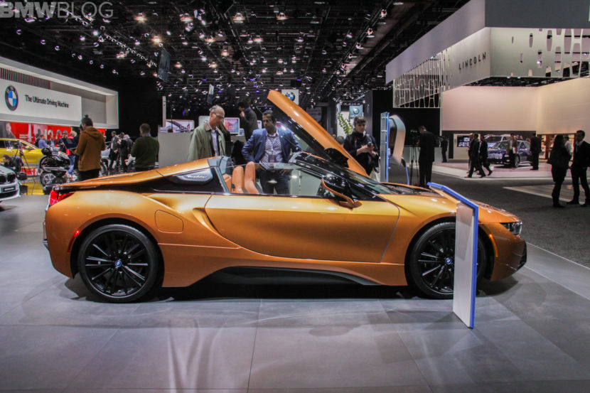 2018 Detroit Auto Show Bmw I8 Roadster Teased Again Before Market