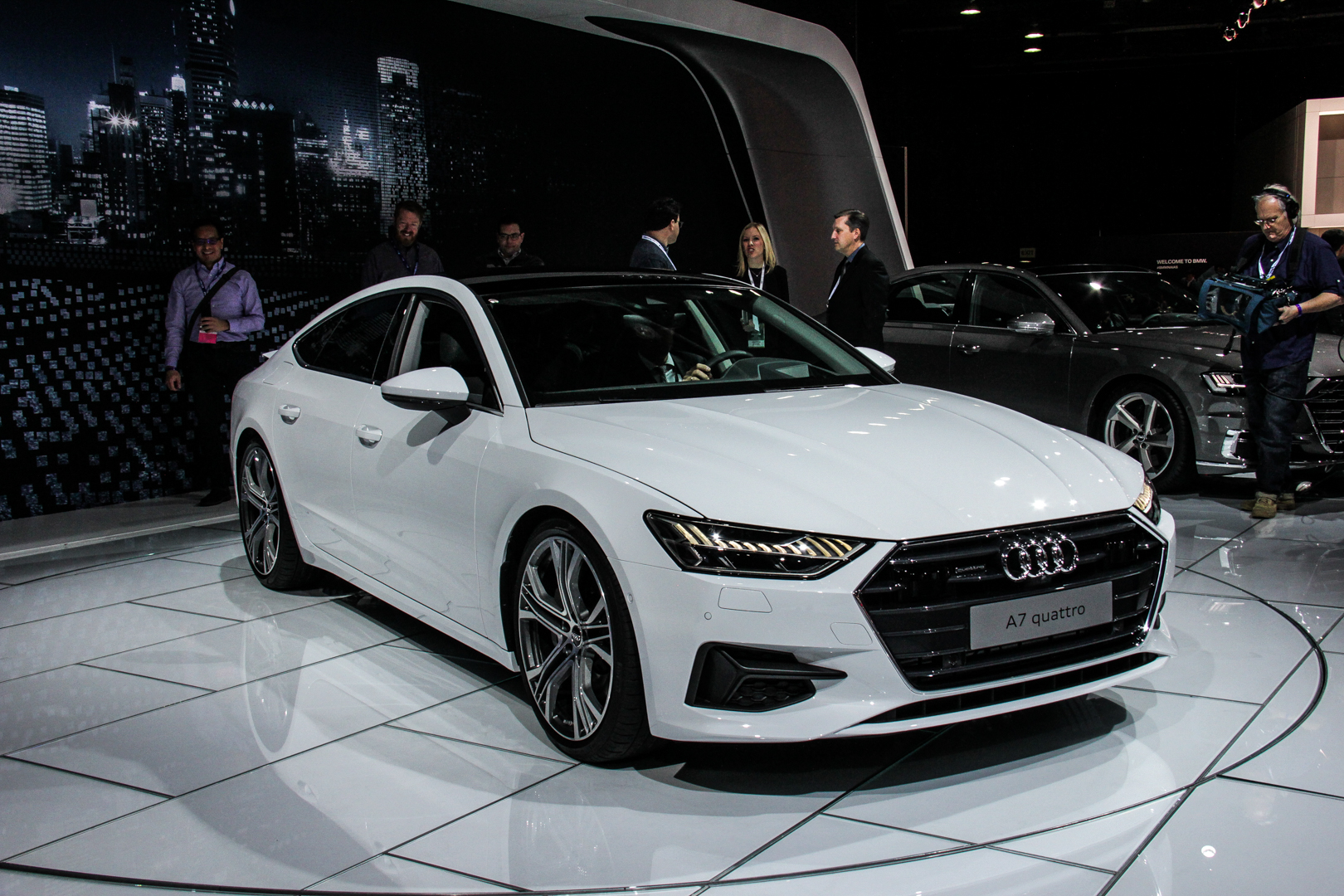 2018 Detroit Auto Show Second Gen Audi A7 Hits American