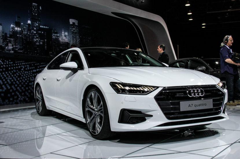 2018 Detroid Auto Show Audi A7 7464 830x553