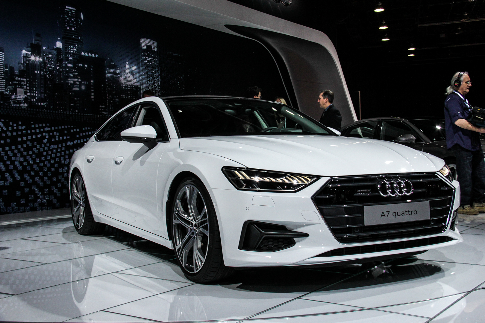 2018 Detroit Auto Show Second Gen Audi A7 Hits American Shores