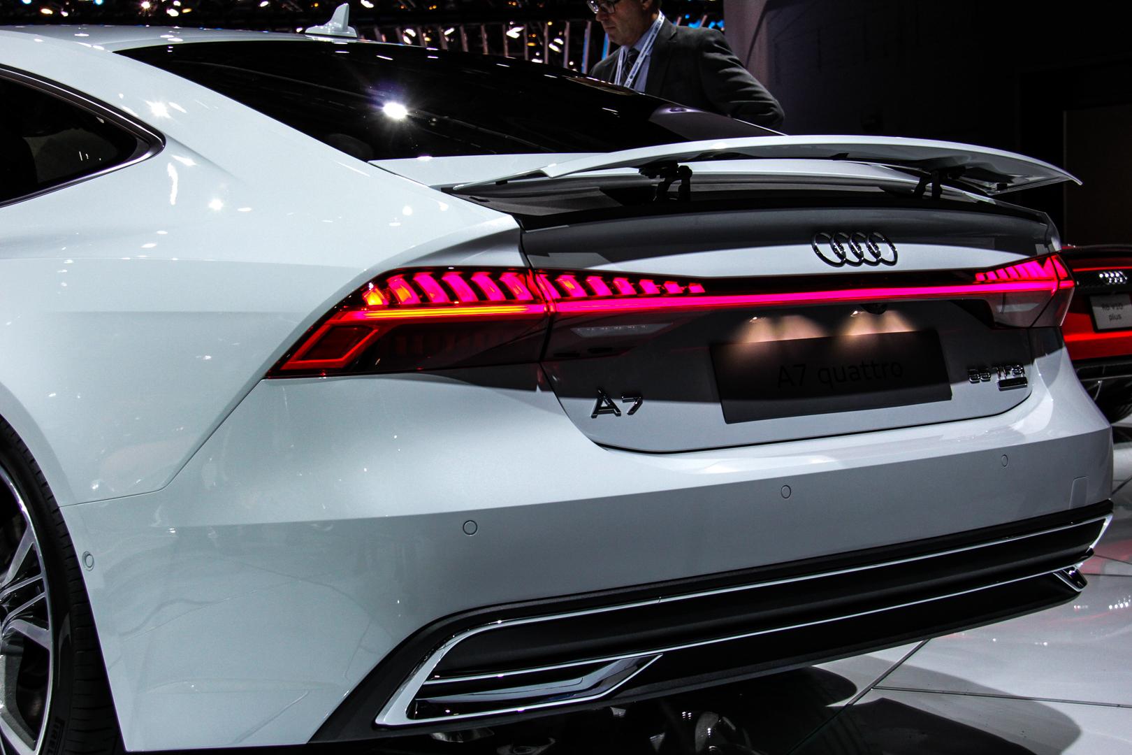 2018 Detroit Auto Show: Second-Gen Audi A7 Hits American ...