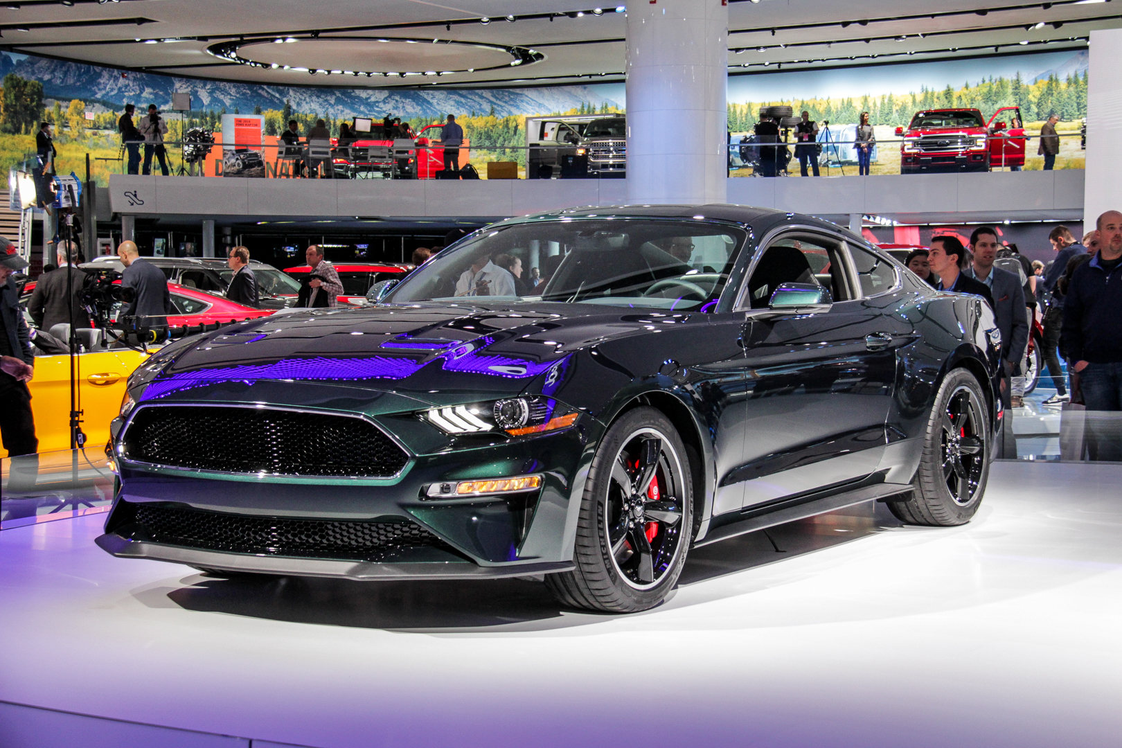 2018 Detroit Auto Show Ford Mustang Bullitt