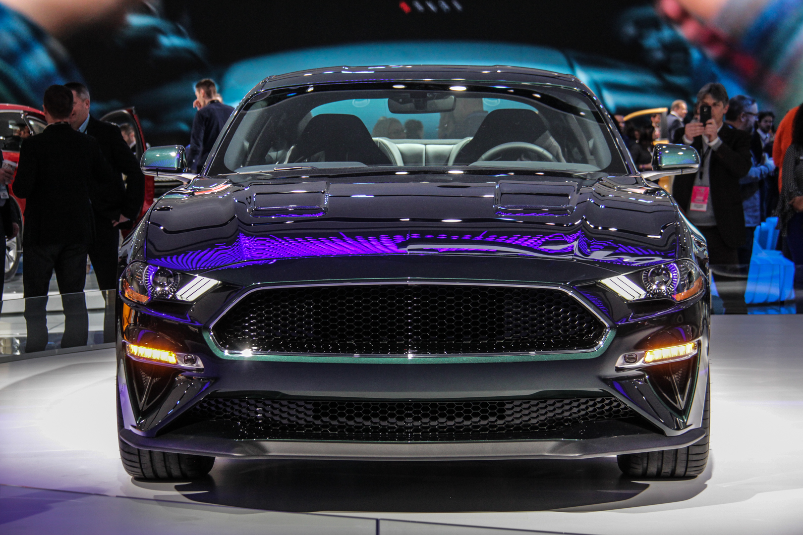 2018 detroit auto show ford mustang bullitt. Black Bedroom Furniture Sets. Home Design Ideas