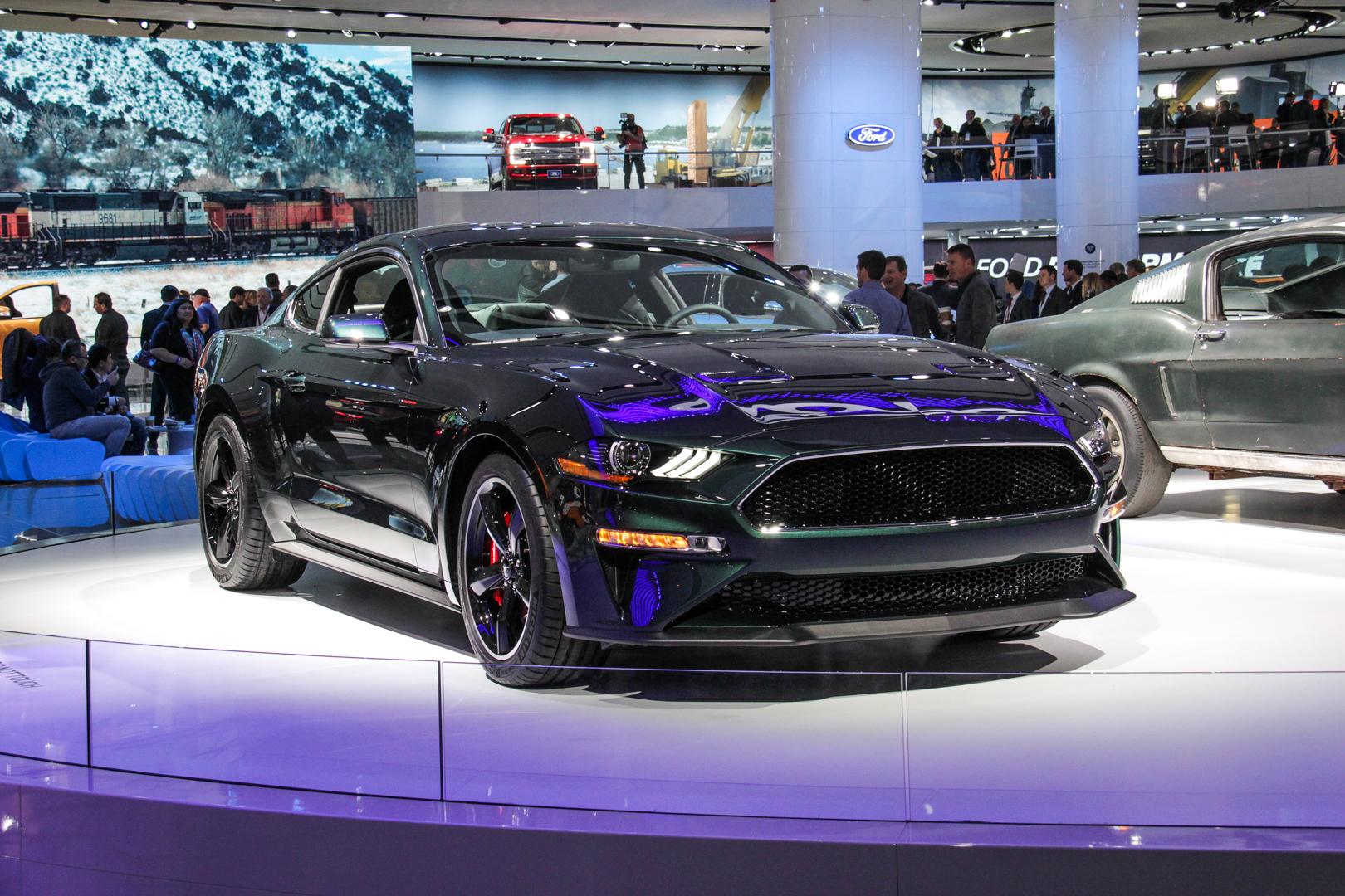 2018 Detroit Auto Showford Mustang Bullitt