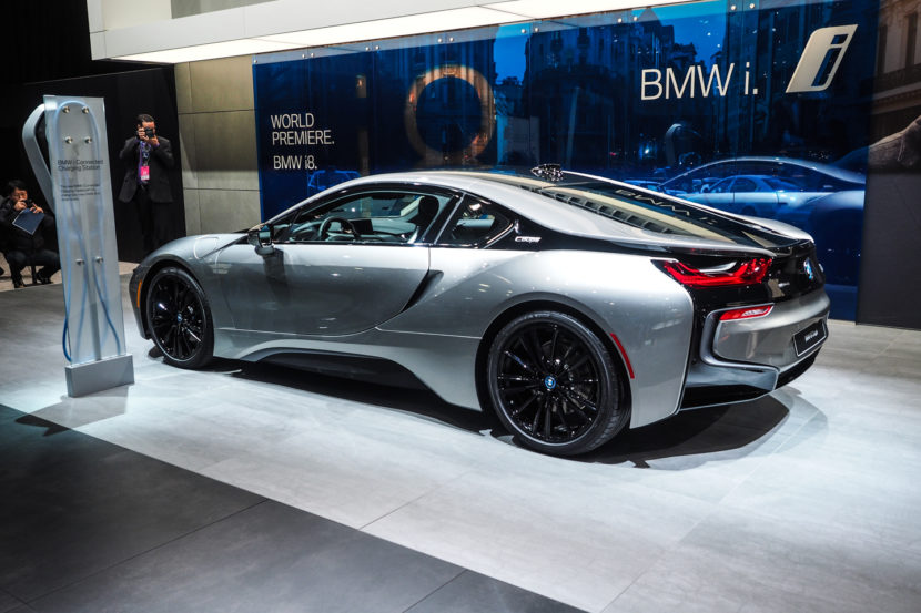 2018 Detroid Auto Show BMW i8 Coupe LCI Refresh Facelift 1 830x553