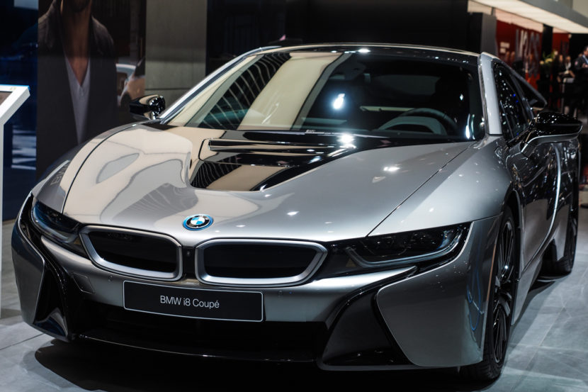 2018 Detroid Auto Show BMW i8 Coupe LCI Refresh Facelift 10 830x553