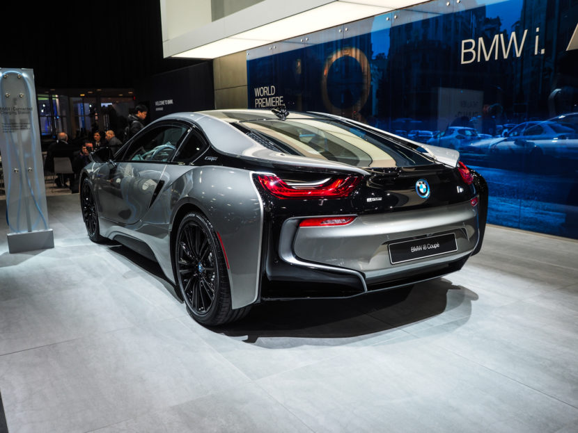 2018 Detroid Auto Show BMW i8 Coupe LCI Refresh Facelift 2 830x623