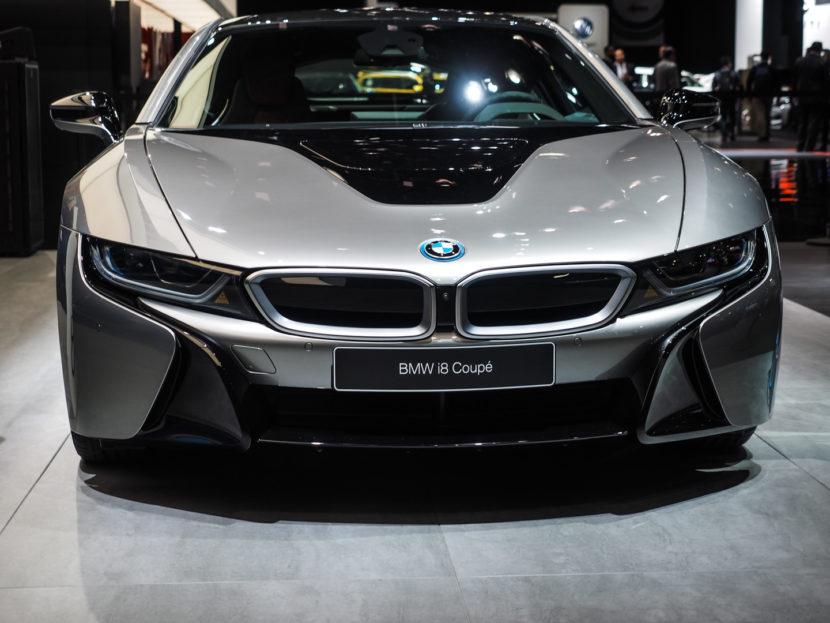 2018 Detroid Auto Show BMW i8 Coupe LCI Refresh Facelift 8 830x623