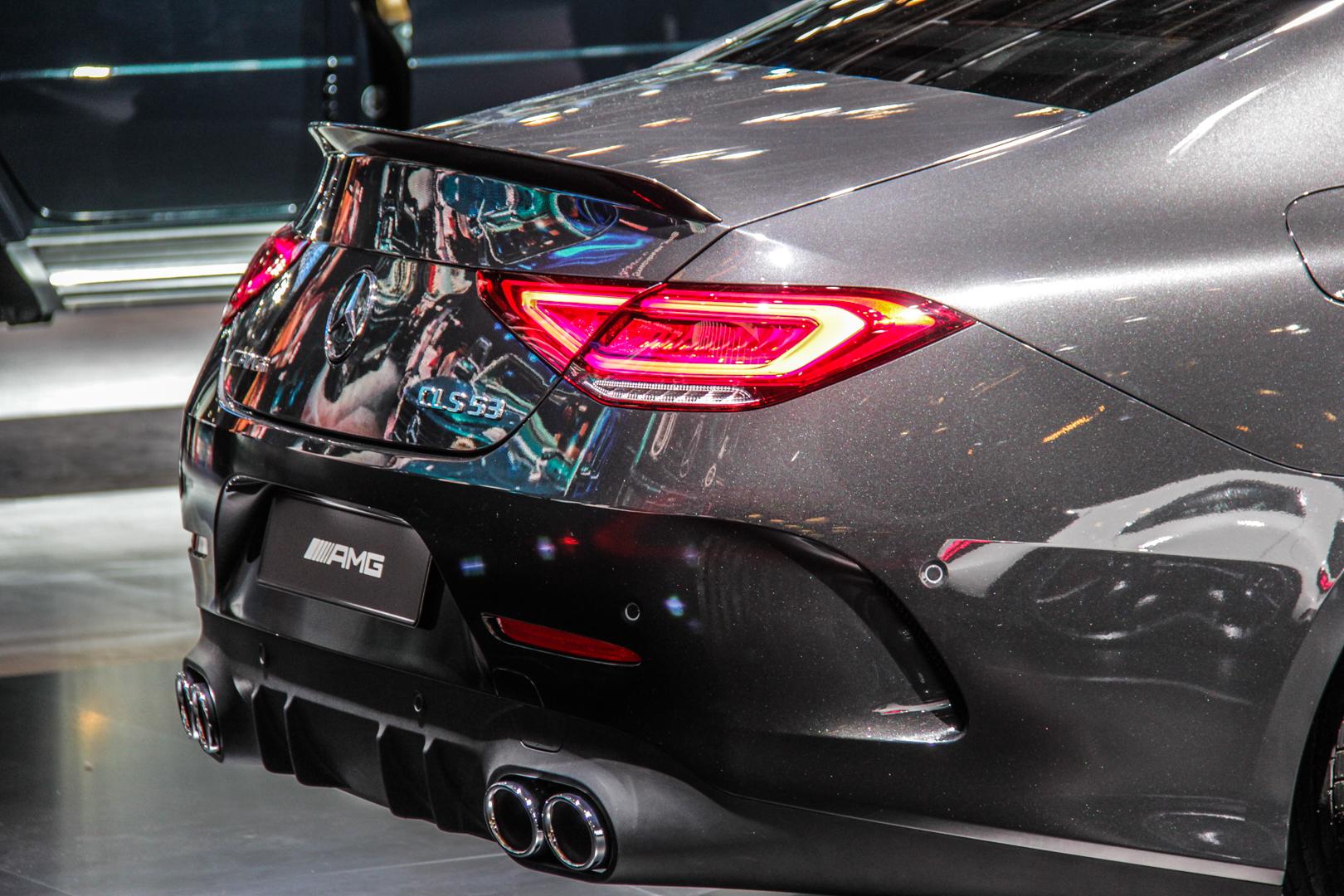 Toyota Avalon 0 60 >> 2018 Detroit Auto Show: Mercedes-AMG CLS53