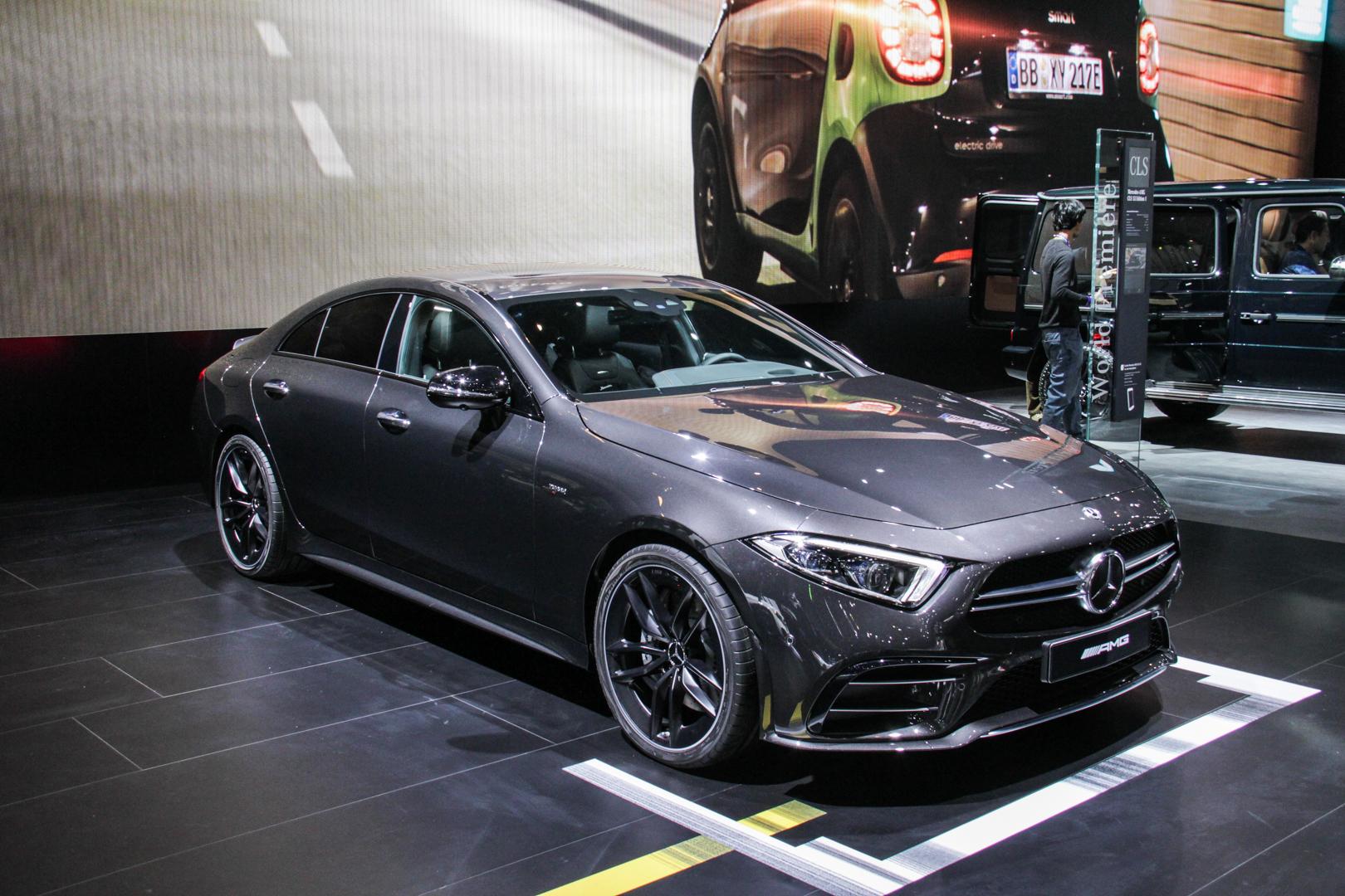 2018 Detroit Auto Show: Mercedes-AMG CLS53