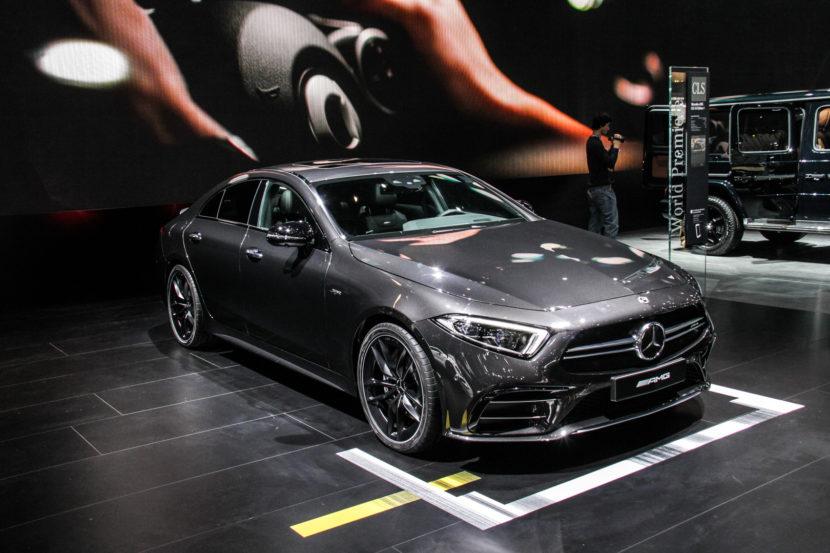 2018 Detroid Auto Show Mercedes AMG CLS53 7837 830x553