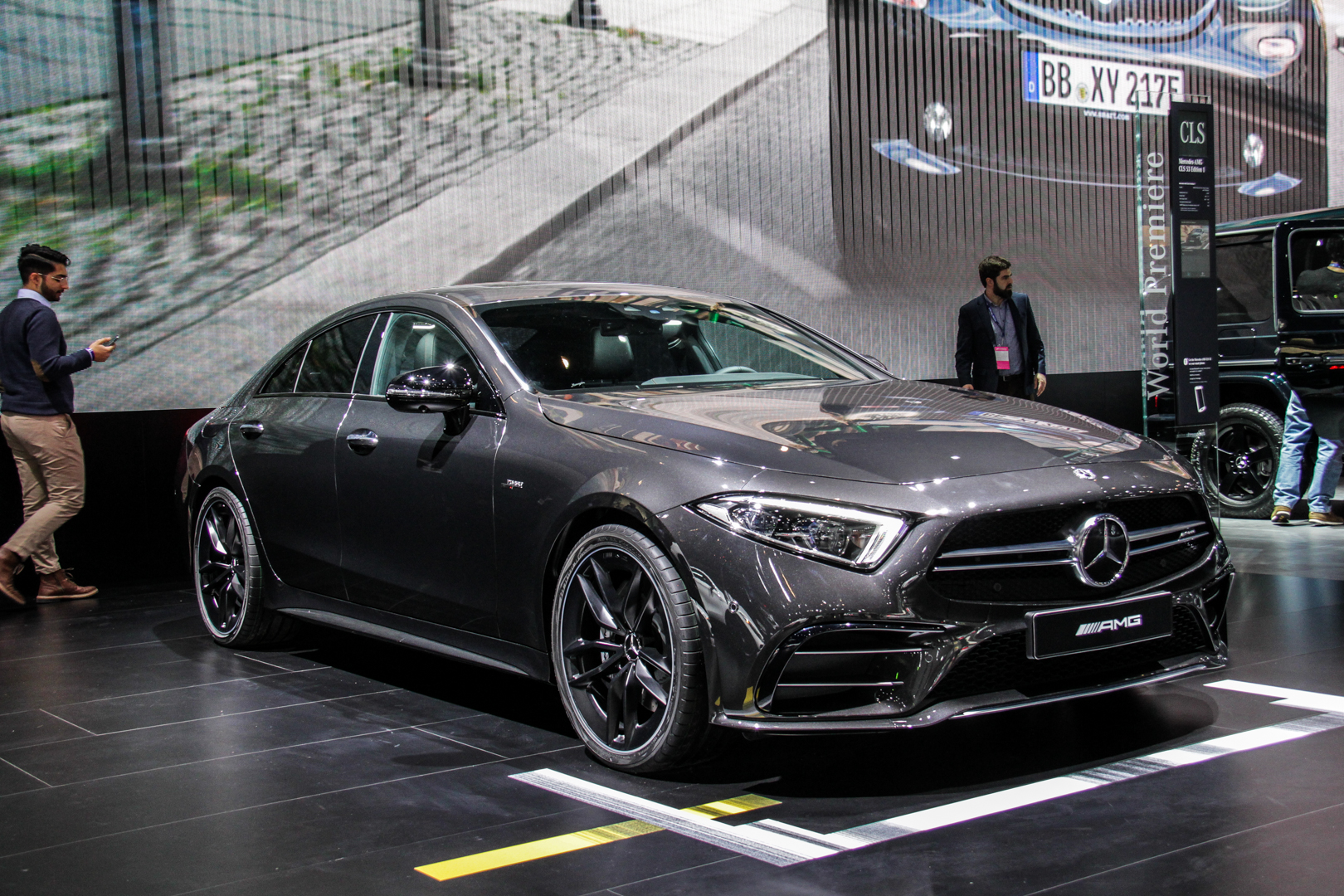 2018 Ford Mustang 0 60 >> 2018 Detroit Auto Show: Mercedes-AMG CLS53