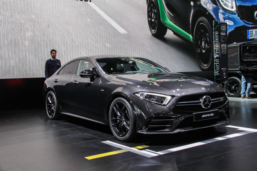 2018 Detroid Auto Show Mercedes AMG CLS53 7841 830x553