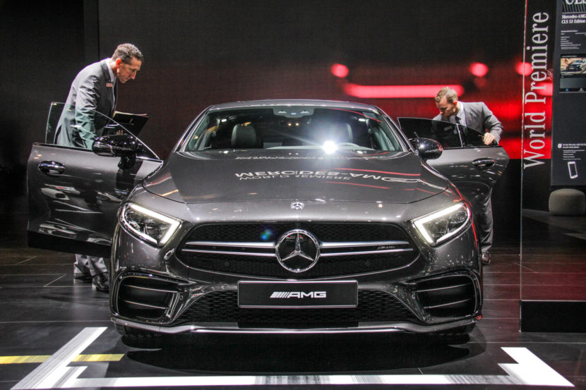 2018 Detroid Auto Show Mercedes AMG CLS53 7849 830x553