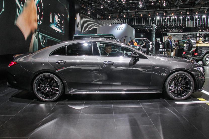 2018 Detroid Auto Show Mercedes AMG CLS53 7864 830x553