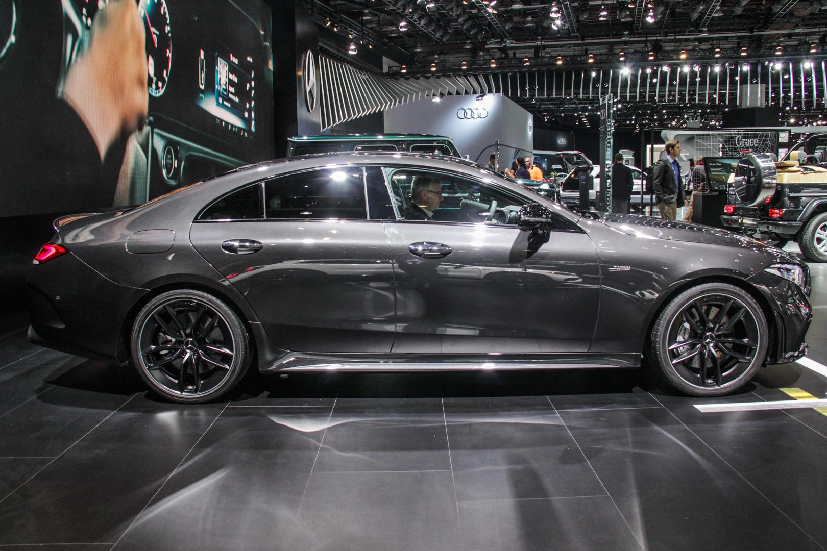 2018 Detroit Auto Show Mercedes Amg Cls53