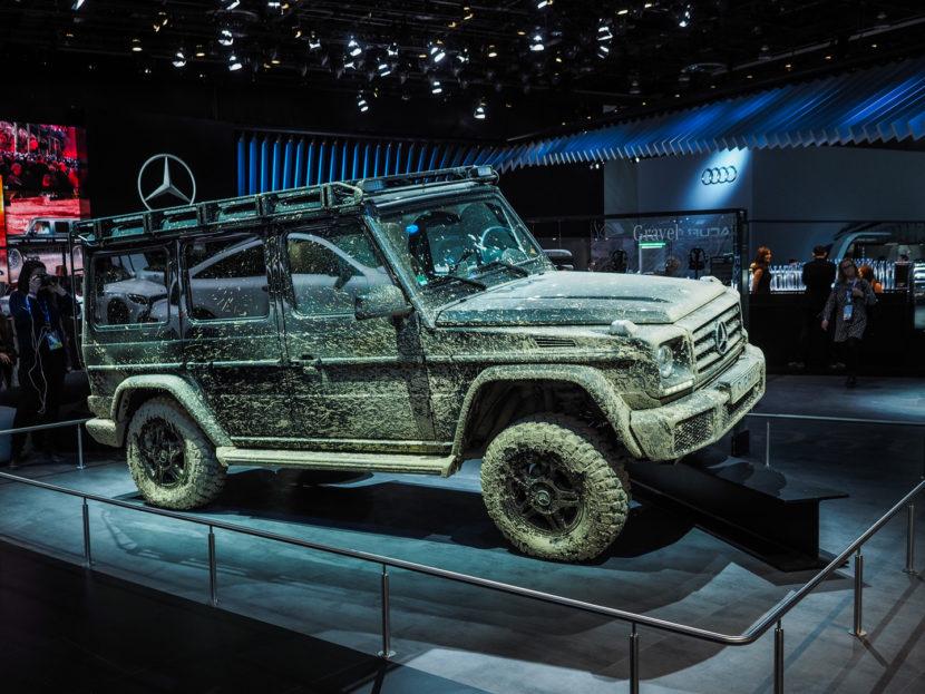 2018 Detroid Auto Show Mercedes G Class 1160587 830x623