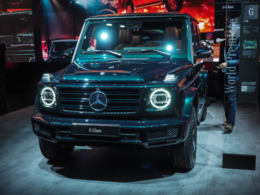 2018 Detroid Auto Show Mercedes G Class 1160590 830x623
