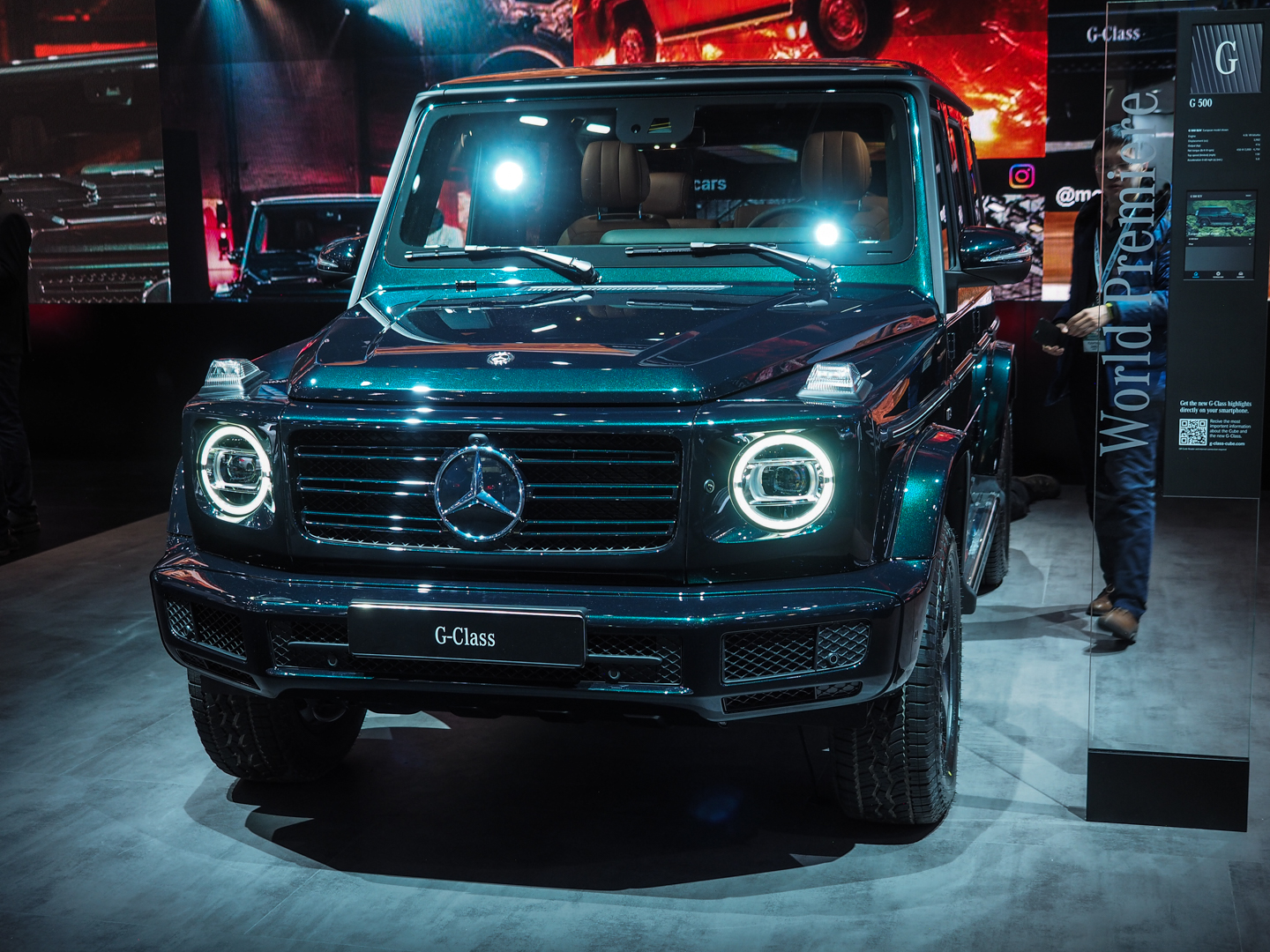 2018 Detroit Auto Showmercedes Benz G Cl