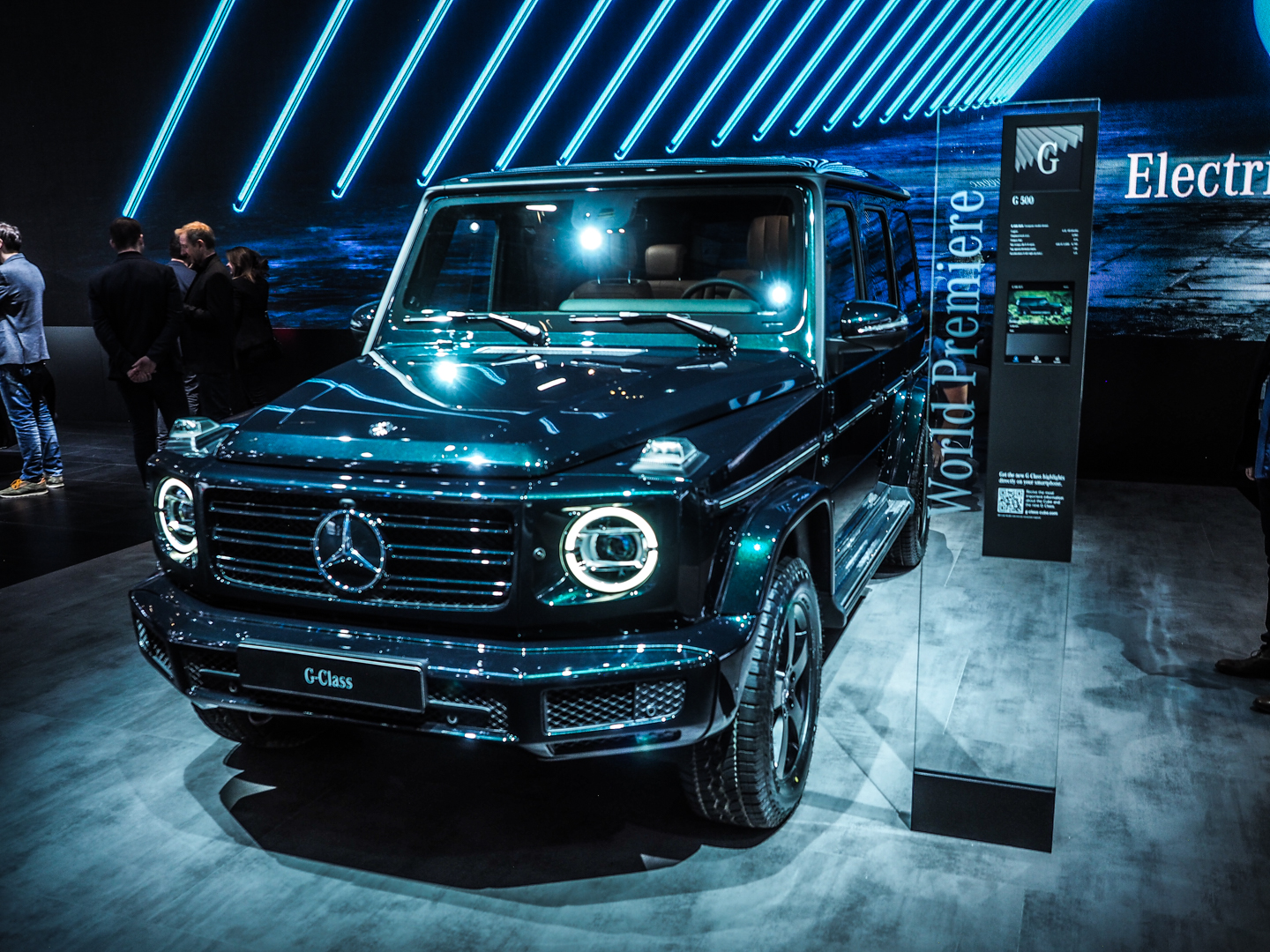 2018 Detroit Auto Show: The first new Mercedes-Benz G-Class