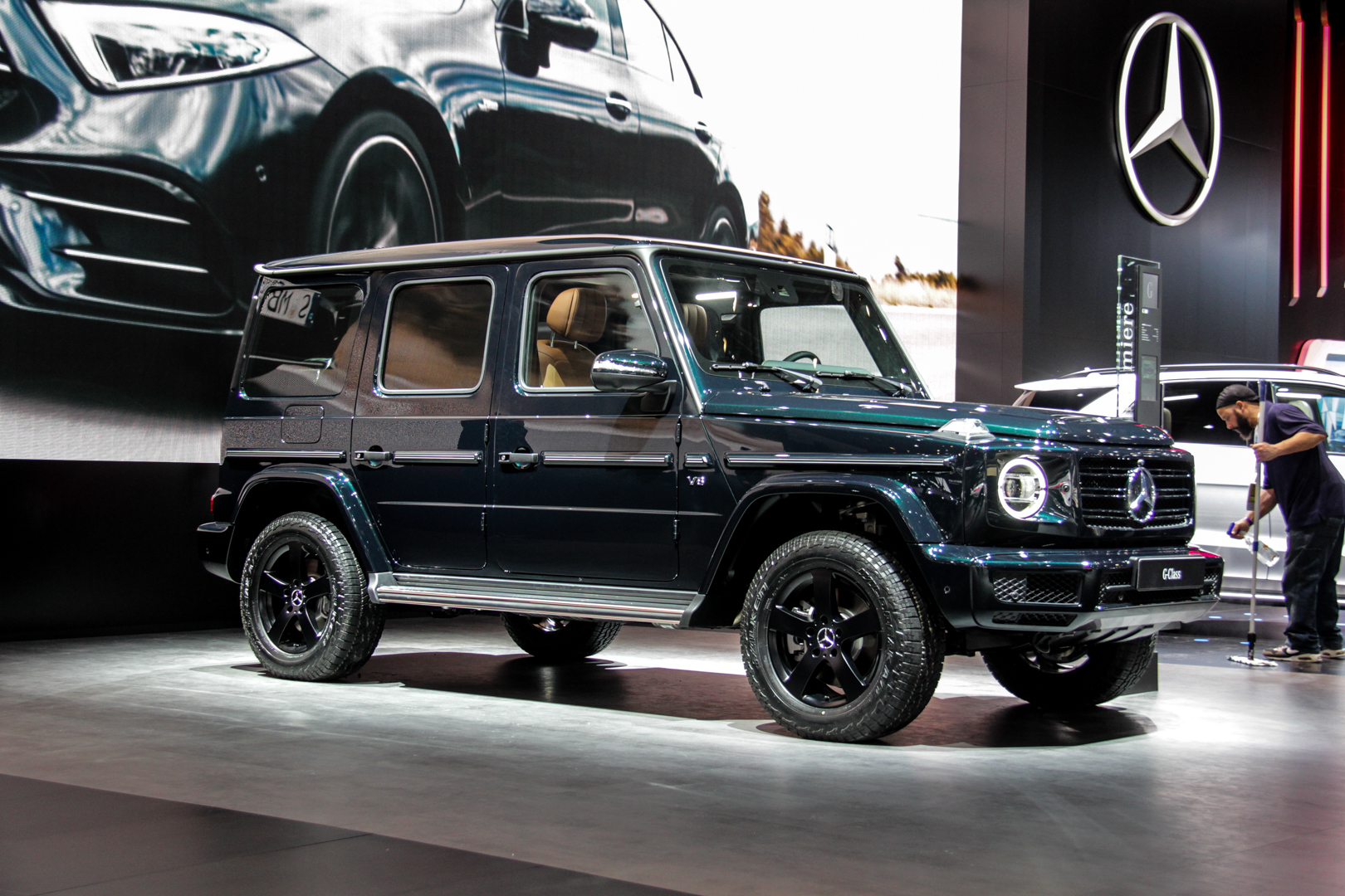2018 Detroit Auto Show The First New Mercedes Benz G