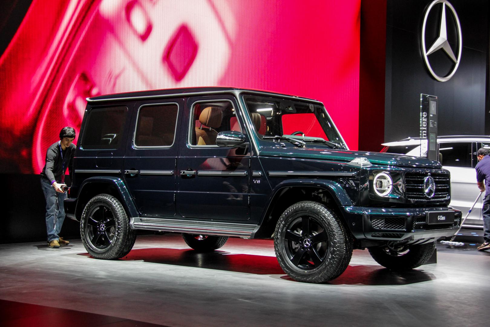 2018 Detroit Auto Show: The first new Mercedes-Benz G ...