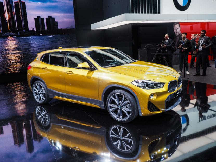 2018 Detroit Auto Show BMW X2 12 830x623