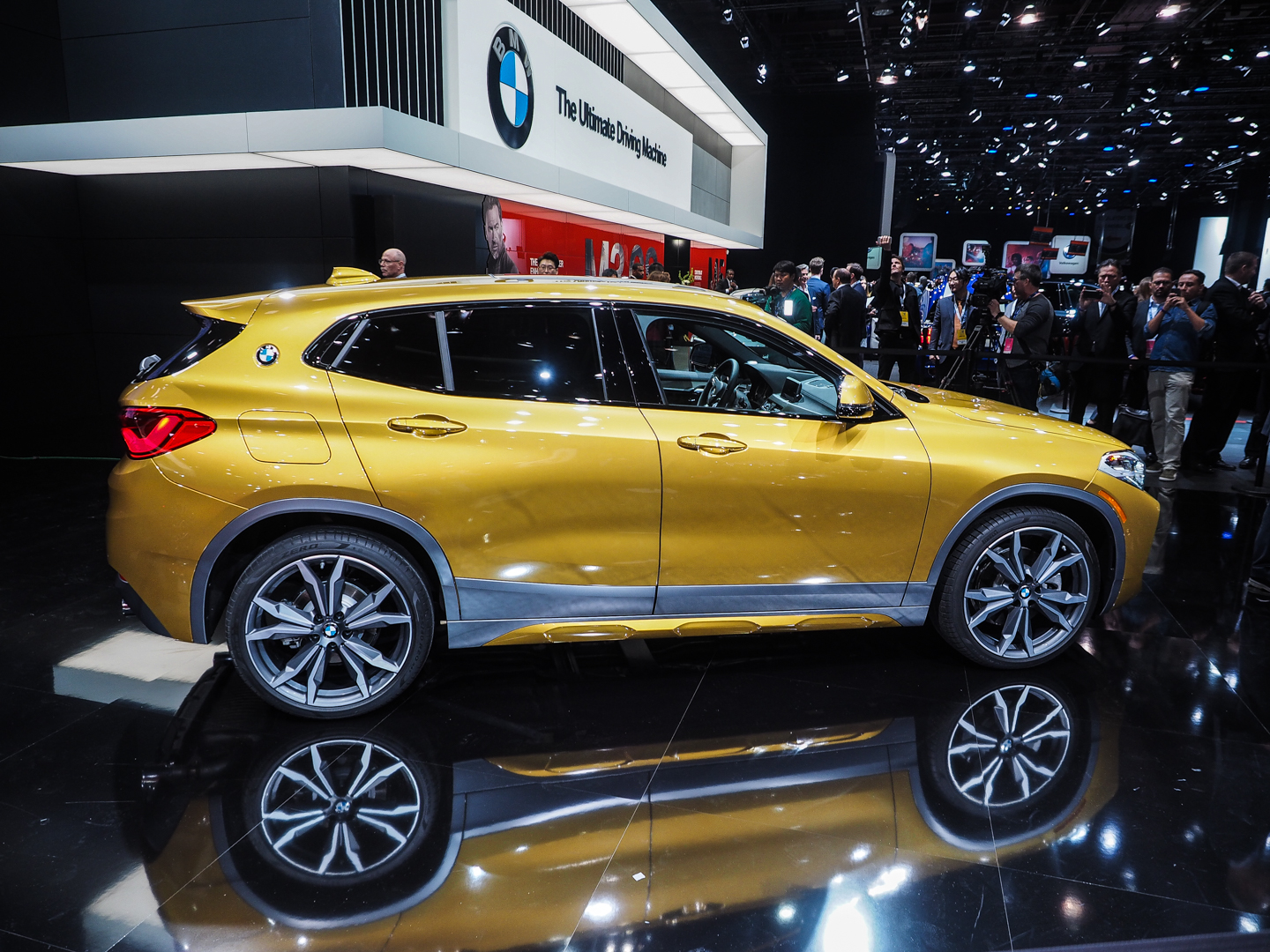 2018 Detroit Auto Show The New Bmw X2