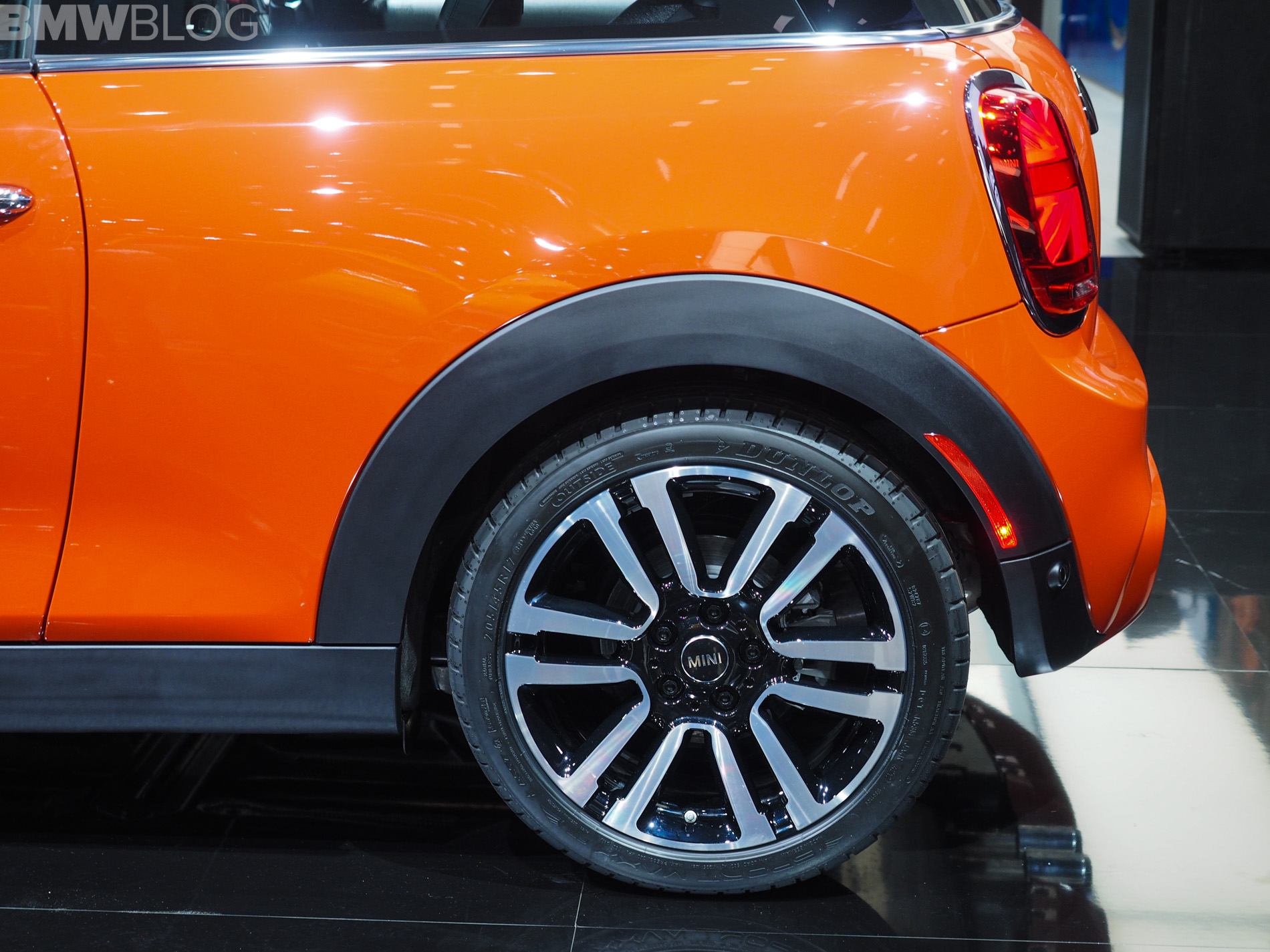 2018 Detroit Auto Show The New Mini Hardtop Facelift