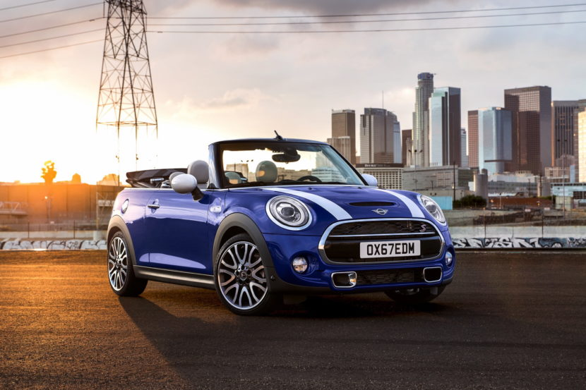 WORLD PREMIERE: 2018 MINI Hardtop and Convertible Facelift