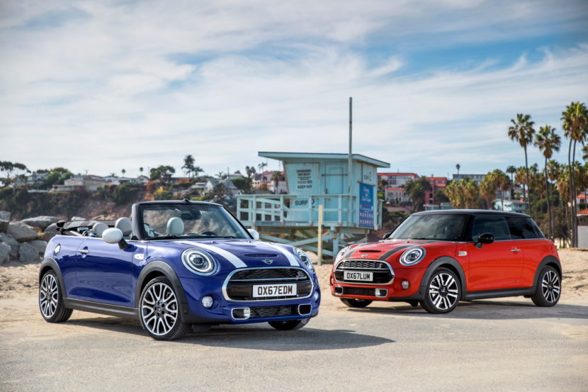 2018 MINi Hatch facelift F56 42 830x553