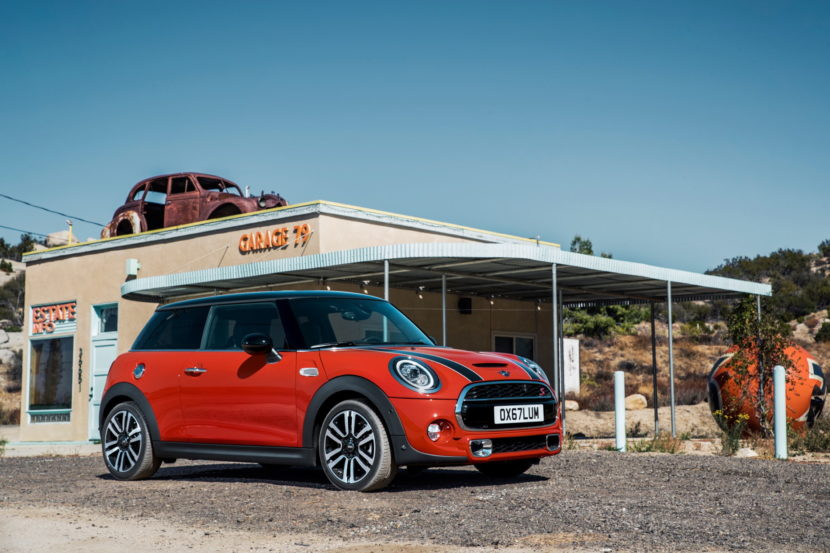 2018 MINi Hatch facelift F56 44 830x553