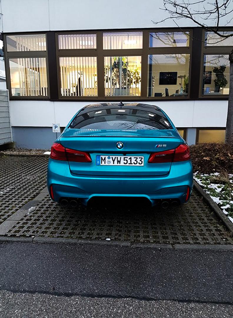 BMW M5 Colors Spied 1