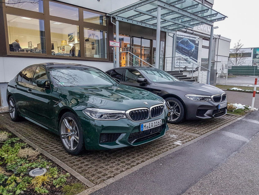 BMW M5 Colors Spied 3 830x623