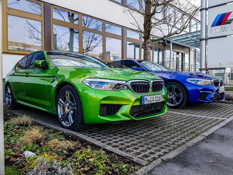 BMW M5 Colors Spied 5