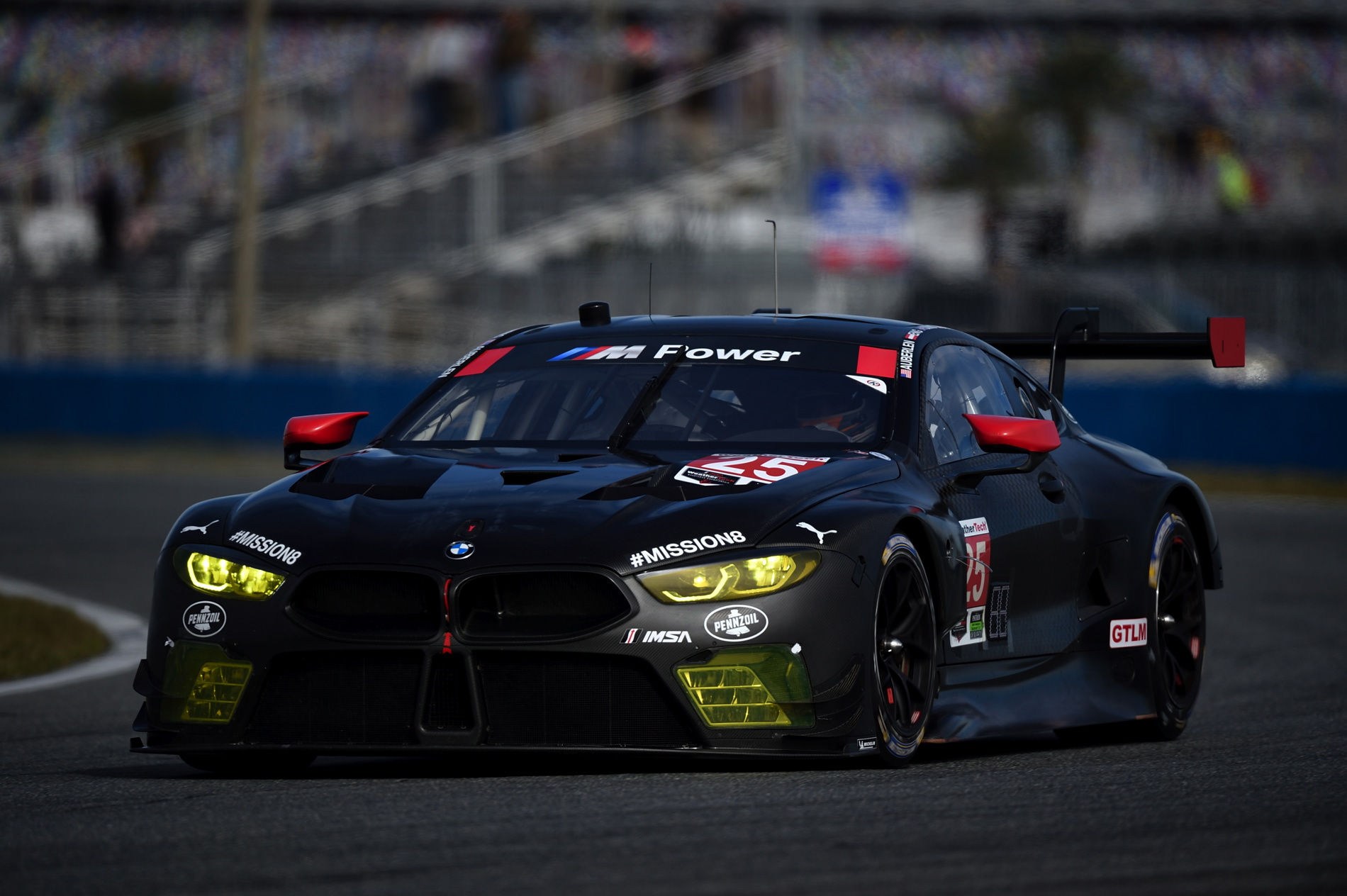Bmw M8 Gte Makes Race Debut At The Rolex 24 In Daytona