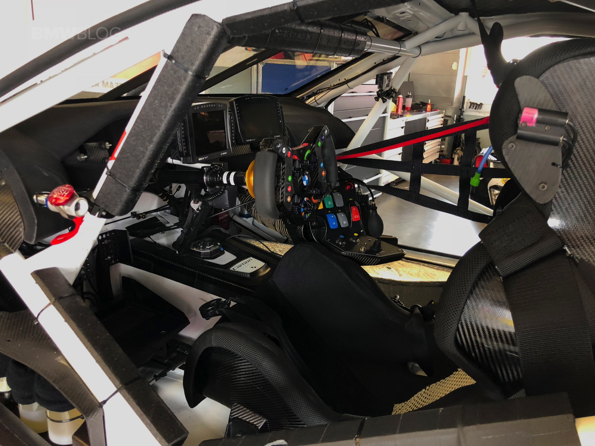 The BMW M8 GTE stripped down is pure mechanical artwork