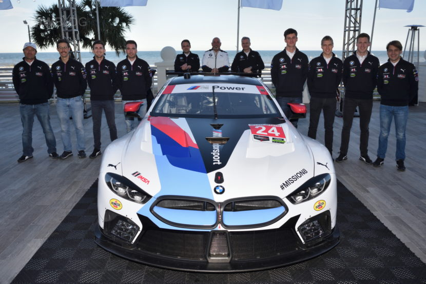 BMW M8 GTE unveil 01 830x554